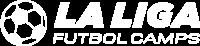white logo la liga futbol camps